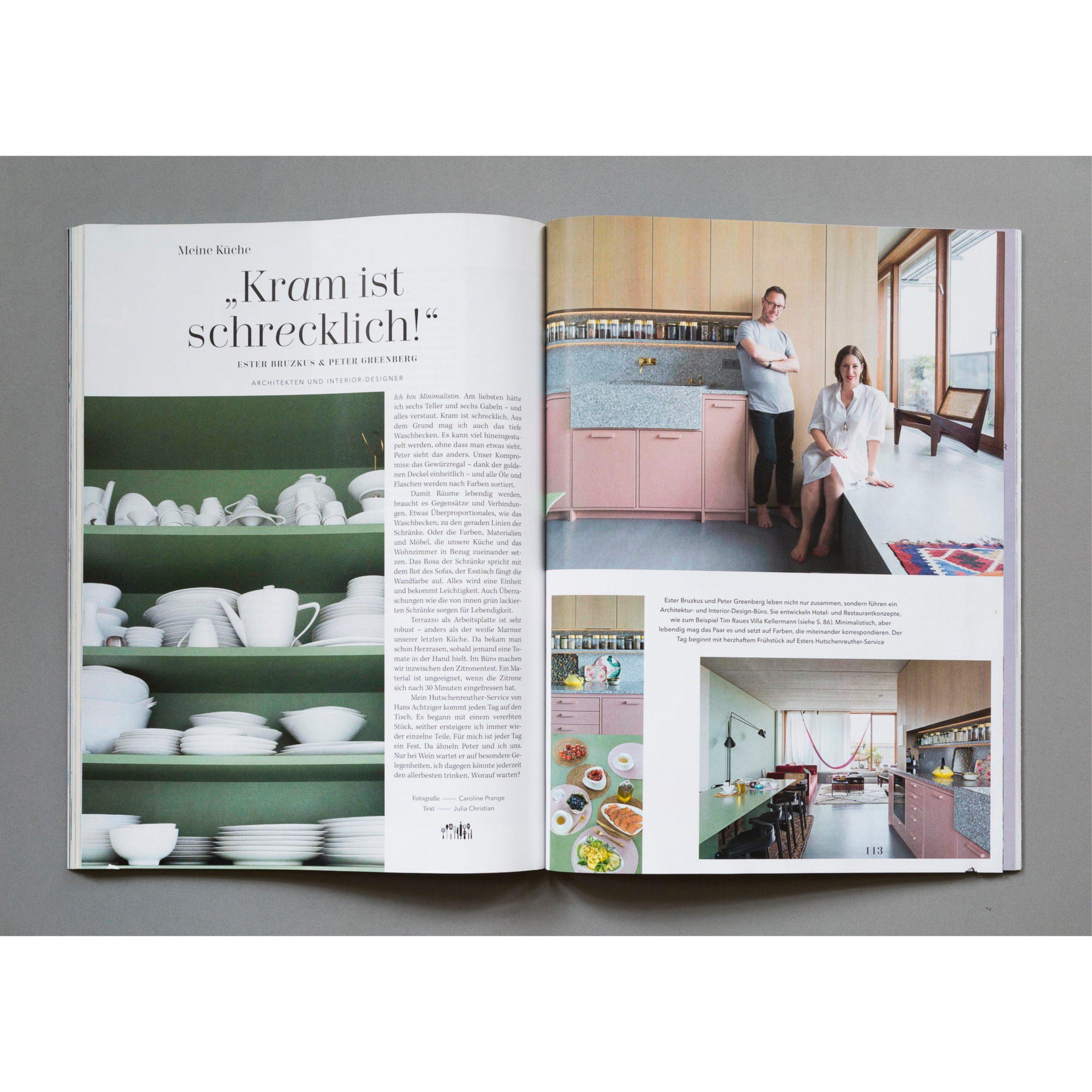 Mit dem Salon Magazin zu Besuch bei Interior Designerin Ester Bruzkus in Berlin.